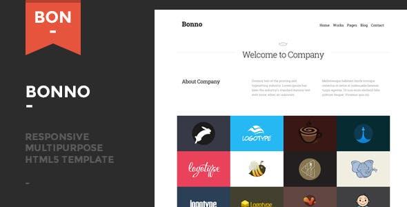 Bonno - Responsive Multipurpose Template