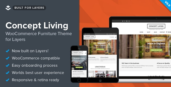 Concept Living - WooCommerce Furniture Theme - eCommerce WordPress