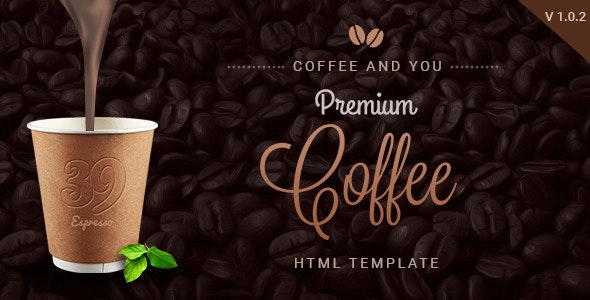 Coffee Shop | Multipage HTML Restaurant Template - Food Retail