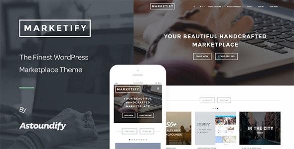 Marketify - Digital Marketplace WordPress Theme - eCommerce WordPress