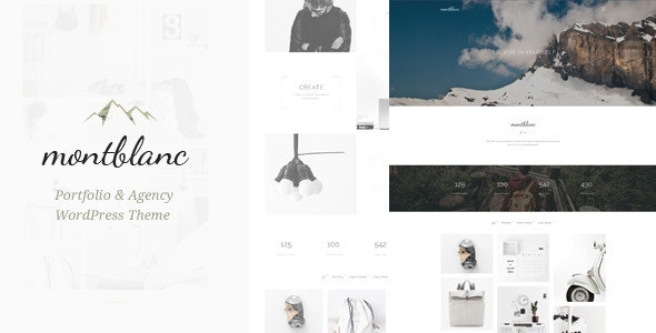 Montblanc - Minimal Creative WP Theme - Creative WordPress