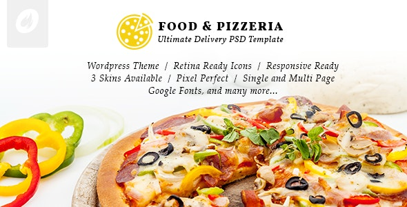Food & Pizzeria - Ultimate Delivery WordPress Theme - Retail WordPress