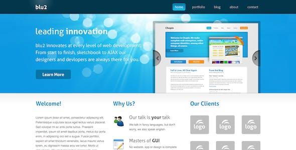Blu2 HTML Theme