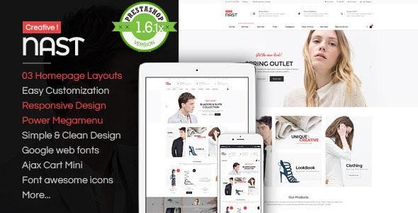 NastCreative - Multipurpose Responsive PrestaShop  - Fashion PrestaShop
