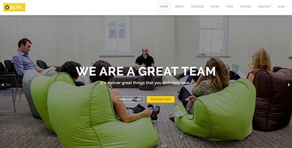 Osum - Onepage HTML Theme - Business Corporate