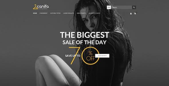 Canifa - Fashion Shop RTL Responsive WooCommerce WordPress Theme