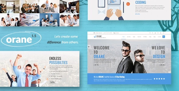 Orane - An Evolutionary WordPress Theme - Corporate WordPress
