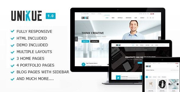 Unikue - Multi-Purpose Drupal 7 Theme - Business Corporate