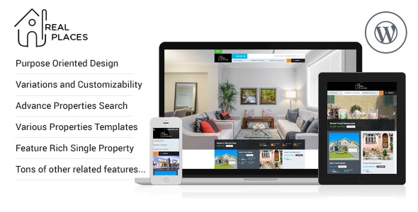 RealPlaces - Estate Sale and Rental WordPress Theme - Real Estate WordPress