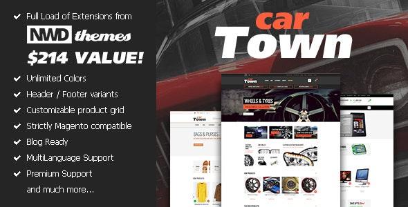 Cartown Premium Responsive Magento Theme - Magento eCommerce