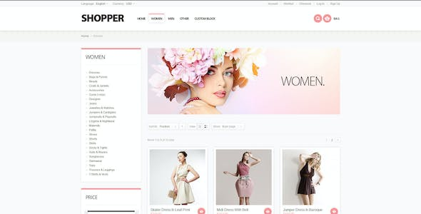 Shopper - Magento Theme, Responsive & Retina Ready
