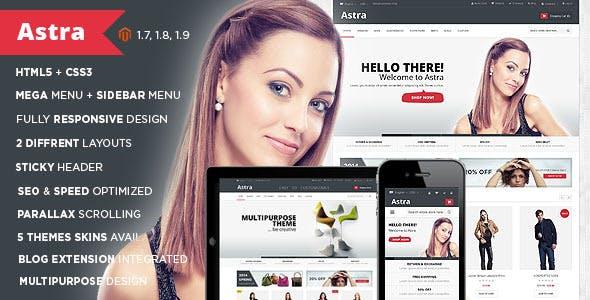 Astra - Wine Store Responsive Magento Theme