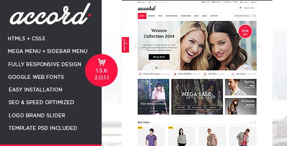 Accord - Pet Store Responsive OpenCart Theme - Shopping OpenCart