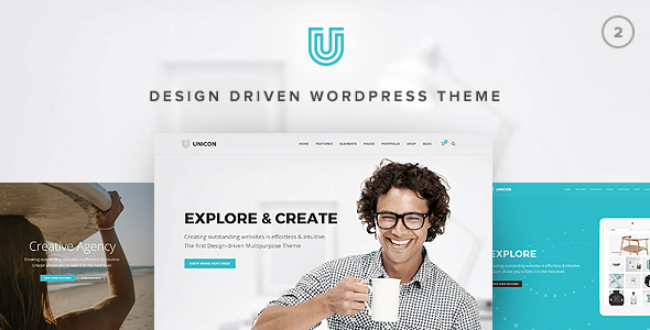 Unicon | Design-Driven Multipurpose Theme - Business Corporate