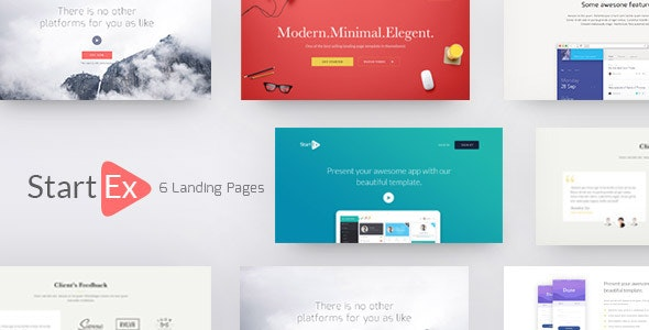 StartEx | Multipurpose Landing Page - Business Corporate