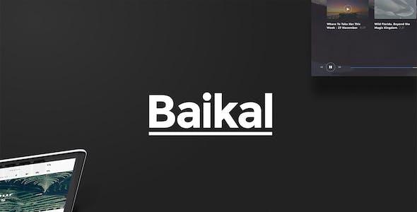 Baikal UI Kit - Huge Set Of UI Components