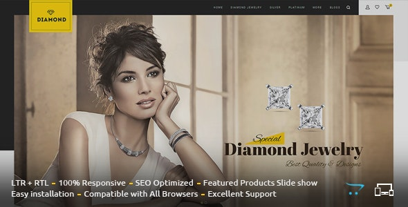 Diamond - Responsive OpenCart Theme - Fashion OpenCart