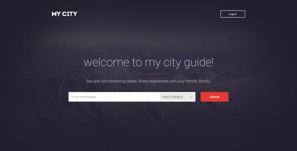 MyCity - Geolocation directory and events guide