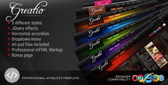 Greatio | Interior and Furniture design Template - Creative Site Templates