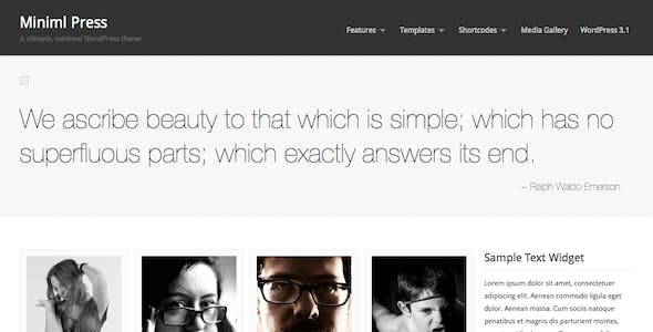 Image Gallery Templates from ThemeForest