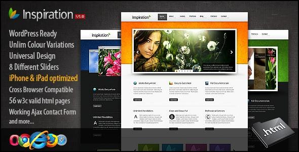 Inspiration | Multipurpose Premium HTML Template - Business Corporate