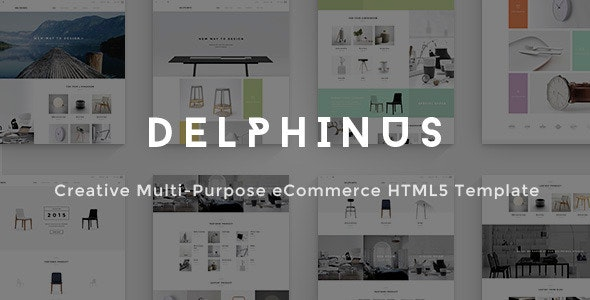 Delphinus - Creative Multi-Purpose eCommerce HTML5 - Shopping Retail
