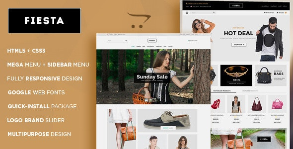 Fiesta - Handbag Store Responsive OpenCart Theme - Shopping OpenCart