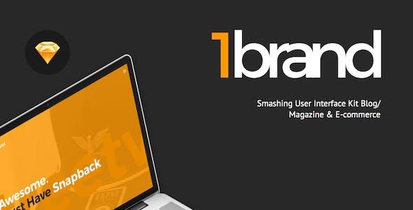 OneBrand UI Kit for Sketch