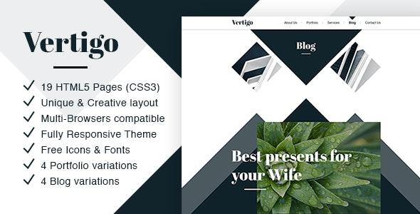 Vertigo - Responsive Multi-Purpose Theme - Business Corporate