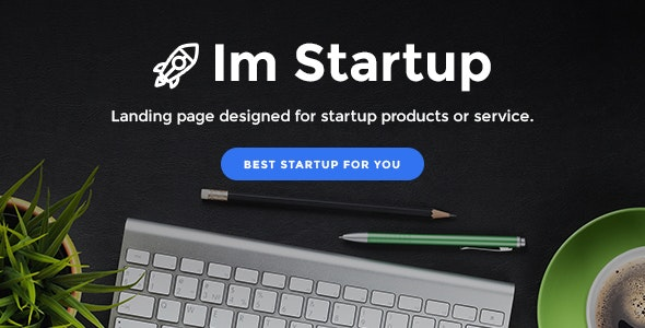 ImStartup - Product and Services Landing Pages With Builder - Marketing Corporate