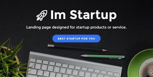 ImStartup - Product and Services Landing Pages With Builder