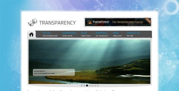 Tranzparency - Portfolio Creative