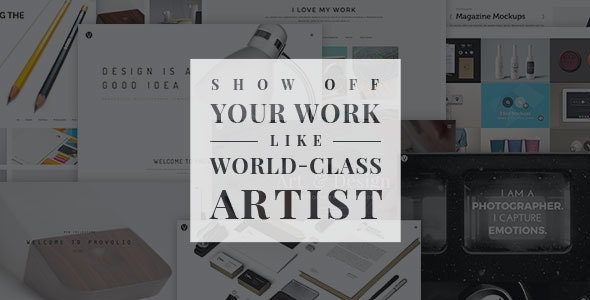 Provolio - WordPress Theme For Creative Minds - Portfolio Creative