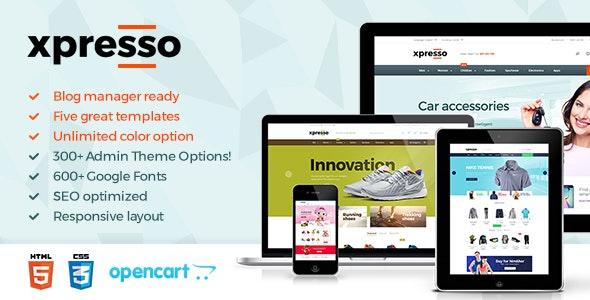 Xpresso - Responsive Multipurpose Opencart Theme - Shopping OpenCart