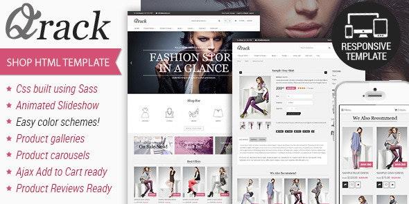 Qrack - Responsive Html Shop Template - Fashion Retail