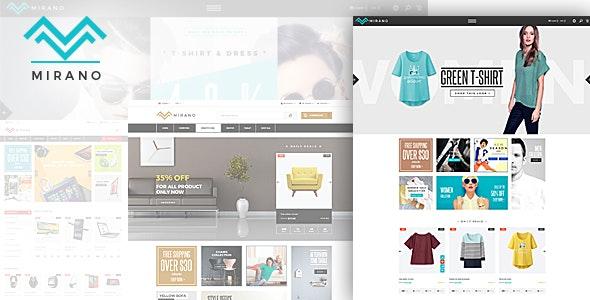 Mirano - Fashion Electronics Store eCommerce HTML Template - Shopping Retail