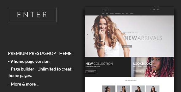 JMS Enter - Responsive Fashion Prestashop Theme