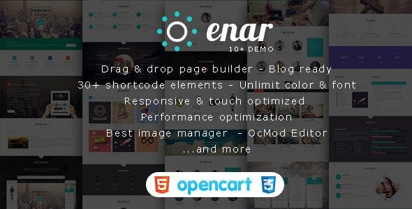 Enar - Multi-purpose Creative Opencart Theme - Shopping OpenCart