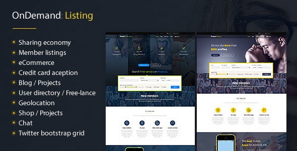 Frame - business & social network - Corporate Site Templates
