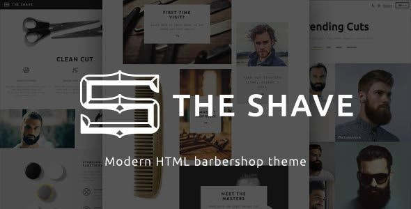 The Shave | BarberShop - Clean Cut HTML Template - Health & Beauty Retail