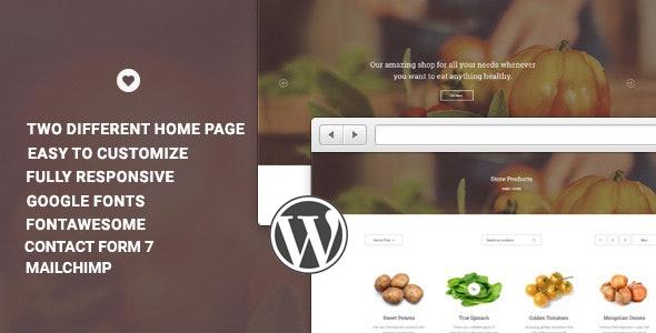 Vital - Responsive WooCommerce WordPress  - Shopping Retail