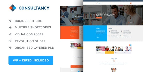 Consultancy - WP Consultancy & Business Theme - Corporate WordPress