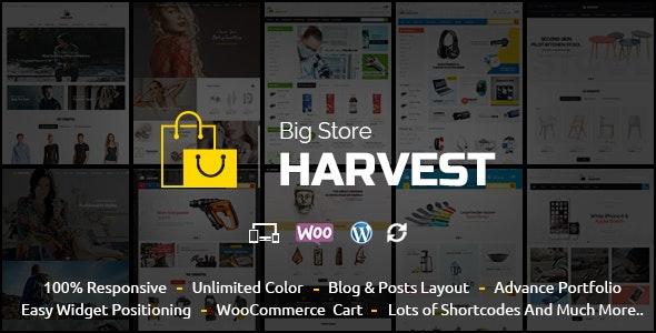 Harvest - Multipurpose WooCommerce Theme - WooCommerce eCommerce
