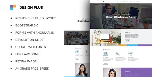 Design Agency - Corporate Business HTML5 Template - Business Corporate