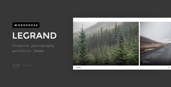 Legrand - Creative Photography Portfolio Theme - Photography Creative