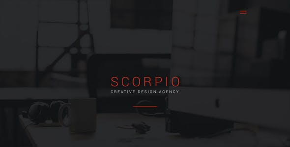 Scorpio: Crowdfunding and Startup PSD Theme