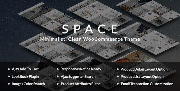 Space - Minimalist, Clean WooCommerce Theme - WooCommerce eCommerce