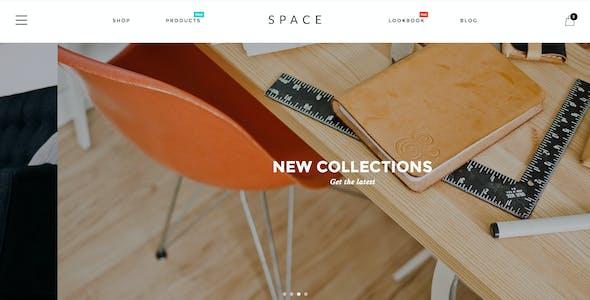Space - Minimalist, Clean WooCommerce Theme