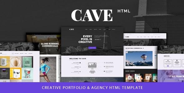 Cave - Creative Multipurpose Bootstrap Template - Portfolio Creative