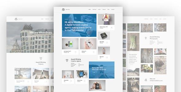 Woodbury - Multi-purpose Bootstrap HTML5 Portfolio